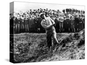 Bobby Jones at the British Amateur Golf Championship at St. Andrews, Scotland, June 1930