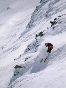 Skiing the Powder at Big Sky Resort by Bobby Model