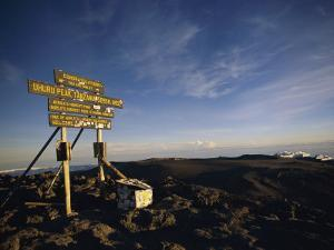 The Summit of Mt. Kilimanjaro by Bobby Model