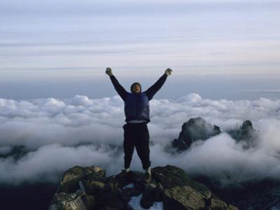 Top of Mount Kenya by Bobby Model