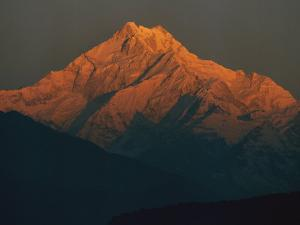 Twilight View of Mt. Kanchenjunga by Bobby Model