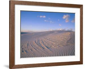 View at Twilight of Sand Dunes in White Sands National Monument by Bobby Model
