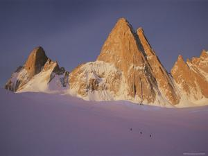 View of Cerro Fitzroy (Center) and Surrounding Peaks by Bobby Model