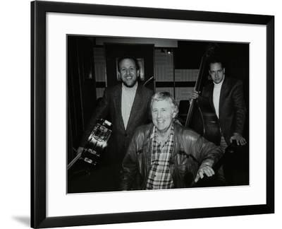 Bobby Worth, Brian Dee and Mario Castronari at Lansdowne Studios, Holland Par-Denis Williams-Framed Photographic Print