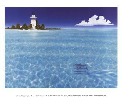 Boca Chita Lighthouse-Dan Mackin-Art Print
