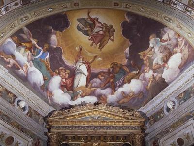 Christ in Glory, Fresco