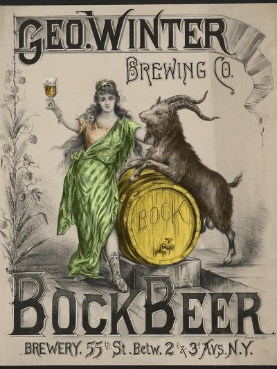 Bockbeer Green--Giclee Print