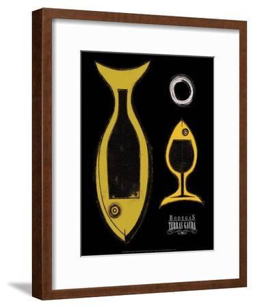 Bodegas, Terras Gauda, 2000-Hudesa Kaganow-Framed Art Print