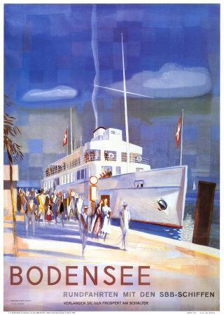 bodensee art print by otto baumberger artcom