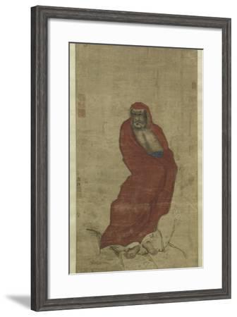 Bodhidharma Crossing the Yangzi-Hui Yan-Framed Giclee Print