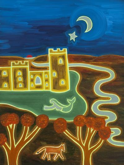 Bodiam Castle by Moonlight, 2014-Cristina Rodriguez-Giclee Print
