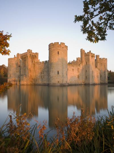 Bodiam Castle, East Sussex, England, United Kingdom, Europe-Mark Banks-Photographic Print