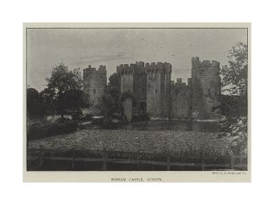 Bodiam Castle, Sussex--Giclee Print