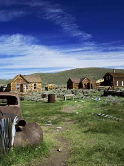 Bodie, Ghost Town, California, USA-Tony Gervis-Photographic Print