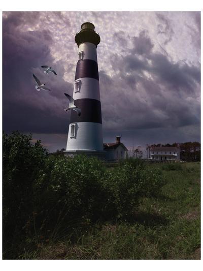 Bodie Island II-Steve Hunziker-Art Print