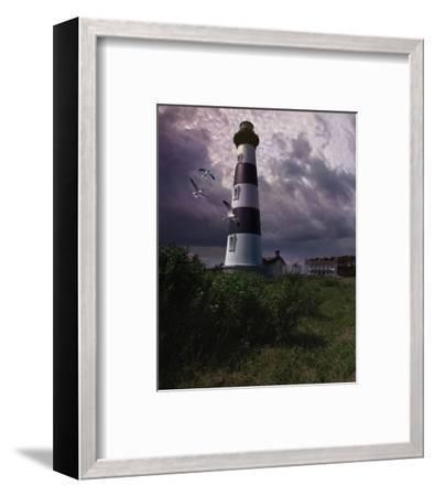 Bodie Island II-Steve Hunziker-Framed Art Print