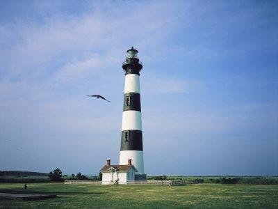 Bodie Island Lighthouse, Part of the Cape Hatteras National Seashore-Vlad Kharitonov-Photographic Print