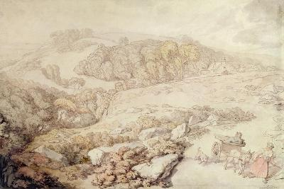 Bodmin Moor, North Cornwall, C.1825-Thomas Rowlandson-Giclee Print