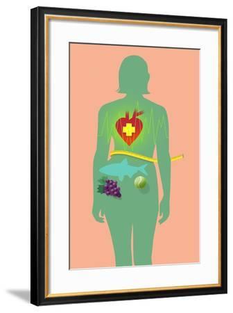 Body-Mary Ann Smith-Framed Giclee Print