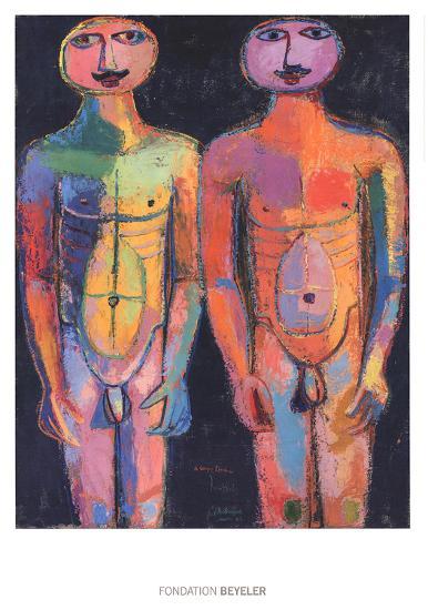 Bodyguard-Jean Dubuffet-Art Print