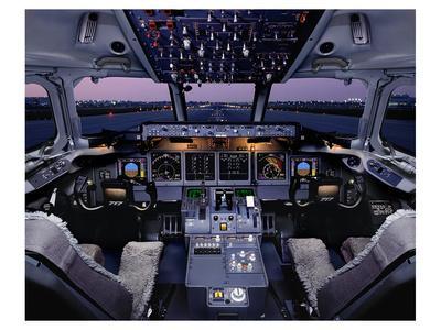 Boeing 717 regional twinjet--Art Print