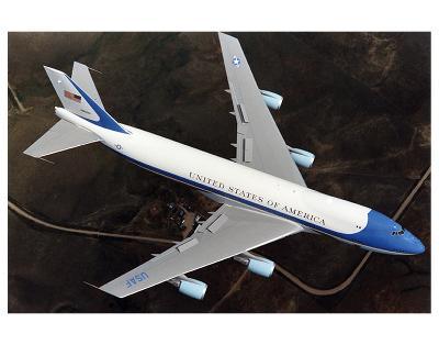 Boeing 747-200B Air Force One--Premium Giclee Print