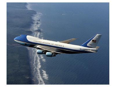 Boeing 747-200B Air Force One--Art Print