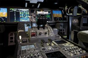 Boeing 787 Dreamliner Flight Deck