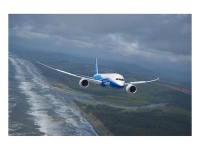 Boeing 787 Dreamliner--Art Print