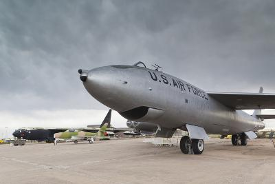 Boeing B-47, Kansas Aviation Museum, Wichita, Kansas, USA-Walter Bibikow-Photographic Print