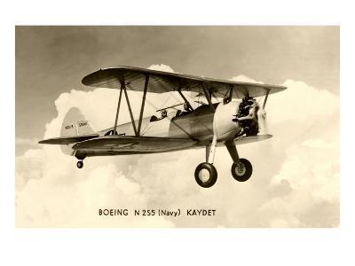 Boeing Kaydet Biplane--Art Print