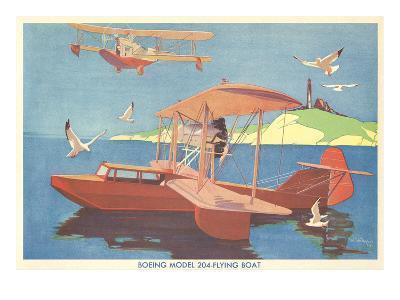 Boeing Model 204 Flying Boat--Art Print