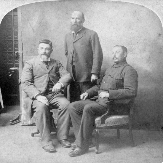 Boer Commanders, South Africa, Boer War, 1902-Underwood & Underwood-Giclee Print