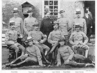 Boer War Yeomanry Troops--Photographic Print