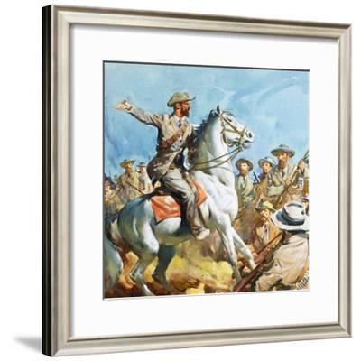 Boers-James Edwin Mcconnell-Framed Giclee Print