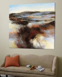 Purple Landscape II by Boersma