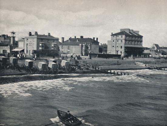 'Bognor - The Esplanade', 1895-Unknown-Photographic Print