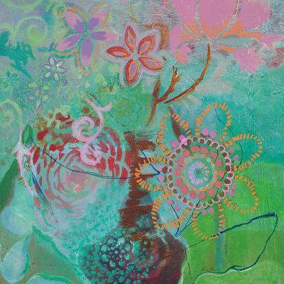 Bohemian Blooms-Jeanne Wassenaar-Art Print
