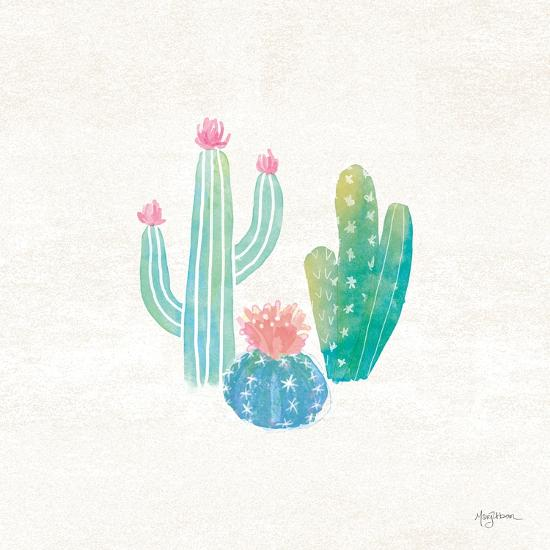 Bohemian Cactus III-Mary Urban-Art Print
