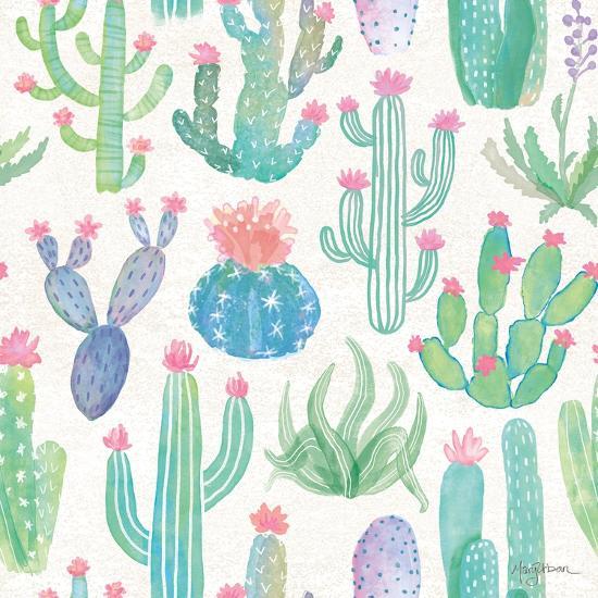 Bohemian Cactus Step 01A-Mary Urban-Art Print