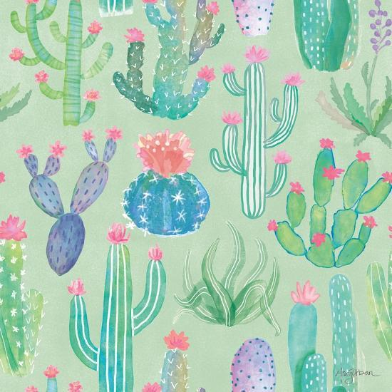 Bohemian Cactus Step 01C-Mary Urban-Art Print