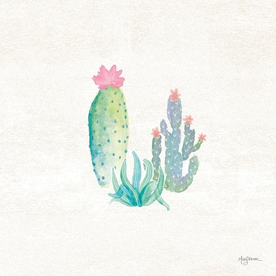 Bohemian Cactus V-Mary Urban-Art Print