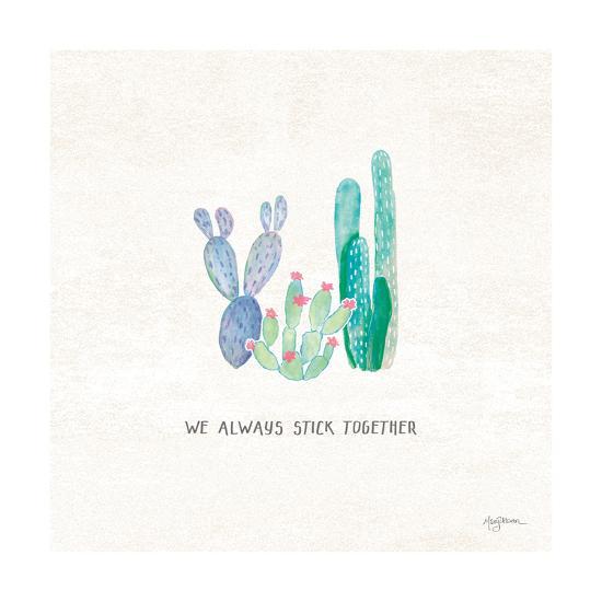 Bohemian Cactus VI-Mary Urban-Art Print