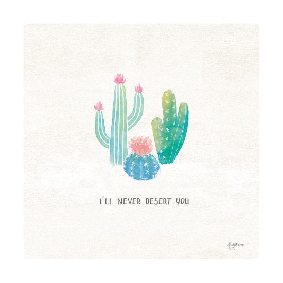 Bohemian Cactus VII-Mary Urban-Art Print