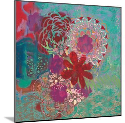 Bohemian Flowers-Jeanne Wassenaar-Mounted Print