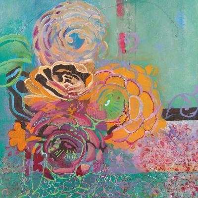 Bohemian Posies-Jeanne Wassenaar-Art Print
