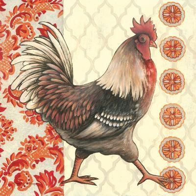 Bohemian Rooster I-Kimberly Poloson-Art Print