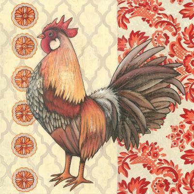 Bohemian Rooster II-Kimberly Poloson-Art Print