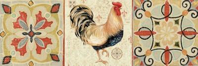 Bohemian Rooster Panel II-Daphne Brissonnet-Premium Giclee Print