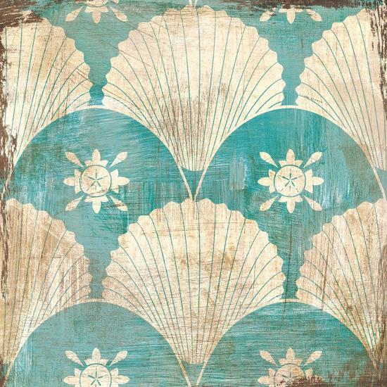Bohemian Sea Tiles I-Cleonique Hilsaca-Art Print